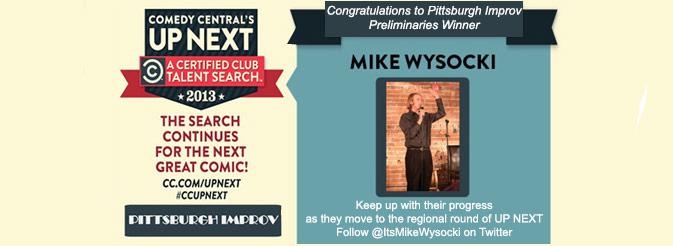 Pittsburgh Improv Preliminaries Winner